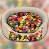 Panier ovale Bonbons