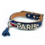 Collier PARIS METALIC tricolore