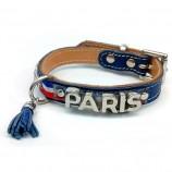 Collier PARIS METALIC tricolore