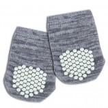 Chaussettes antidérapantes grises