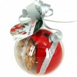 Boule de Noël gourmande MIAOU