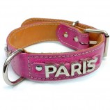 Collier PARIS METALIC fushia